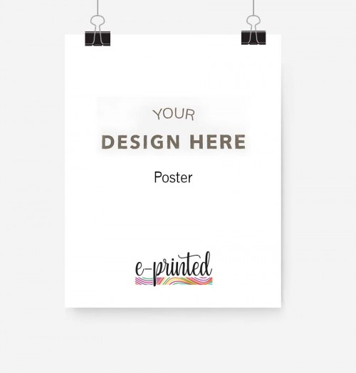Poster Printed Custom Posters Create Buy