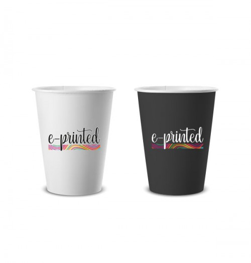 Printed Paper Cup - Printed Design Special Paper Cup