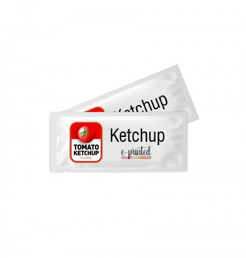 Custom Design Plastic Ketchup Packets