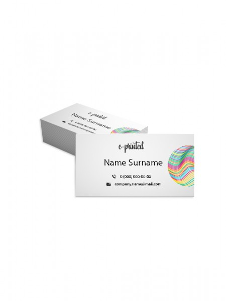 Natural Textured Business Cards