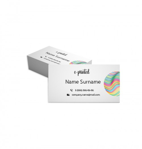 Natural Textured Business Card