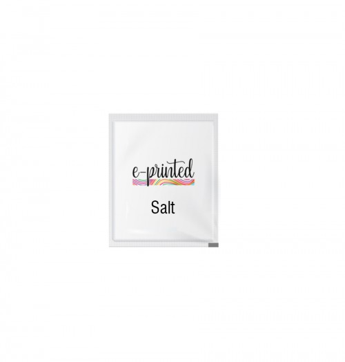 Custom Printed Sachet Salt Wholesale Printed Sachet Salt