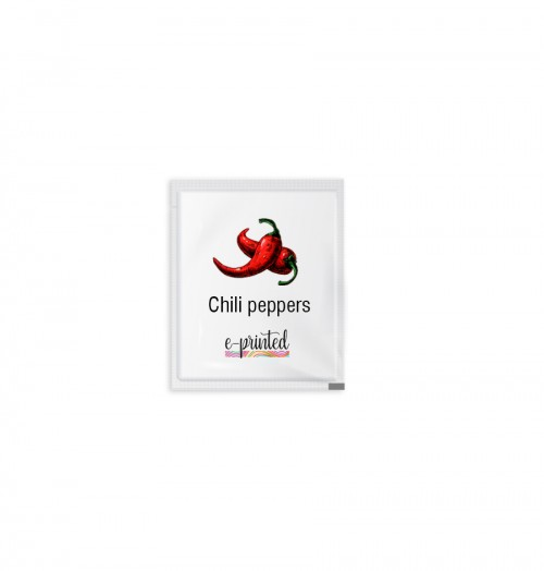 Custom Design Plastic Chili Pepper Packets